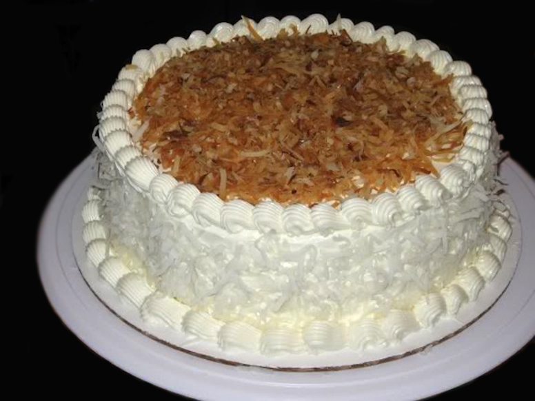 ... Post by The Heritage Cook: Coconut Layer Cake - The Novice Housewife