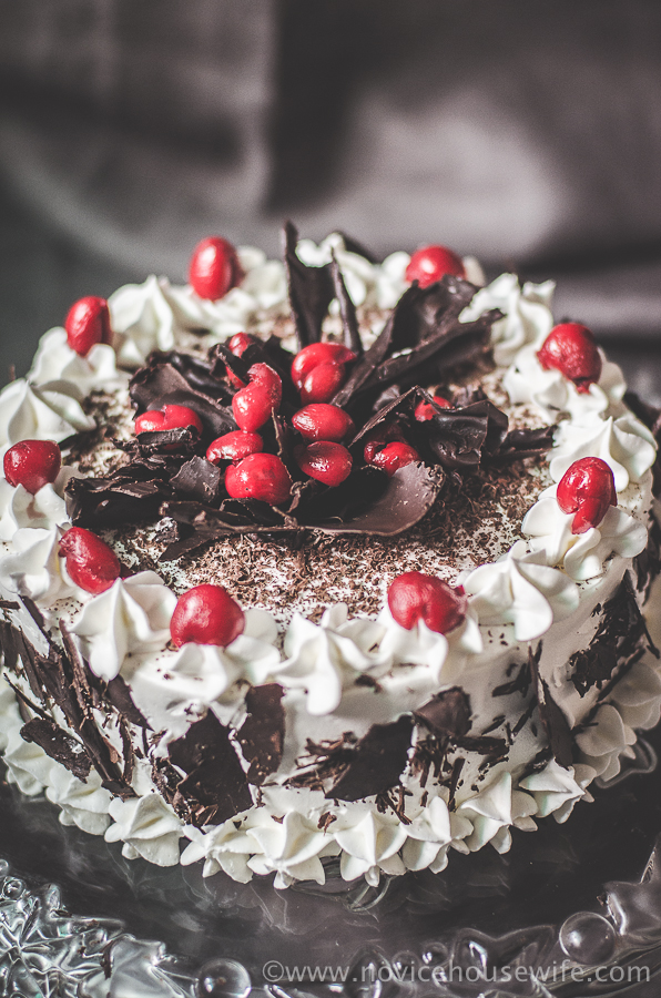 Cake Black Forest Birthday : Black Forest Cake for my Dad s Birthday! - The Novice ...